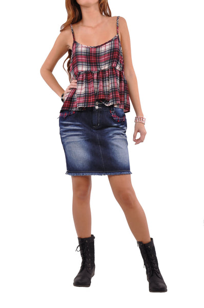 Young Days Jean Skirt # SH-0587