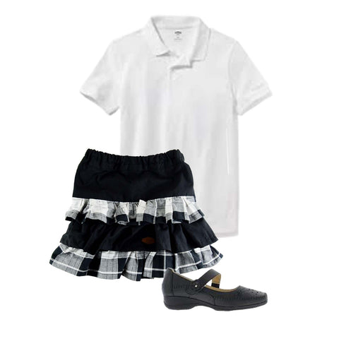 A back to shool look idea for girl