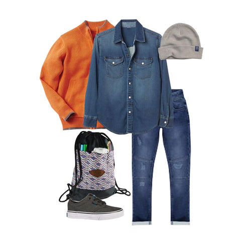 apparels and accessories for boy for fall season