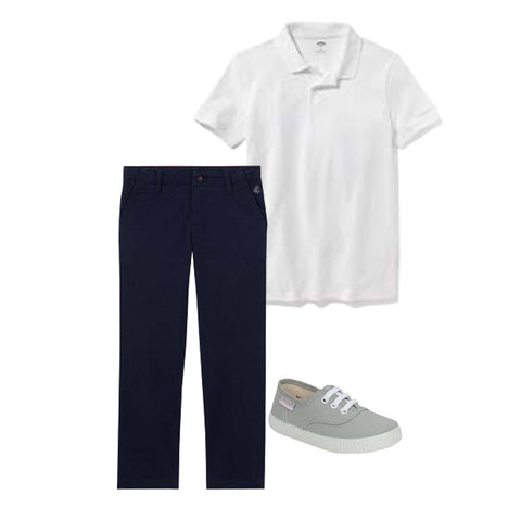 A back to school look idea for boy