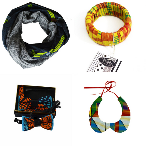 A selection of ethnic fashion accessories