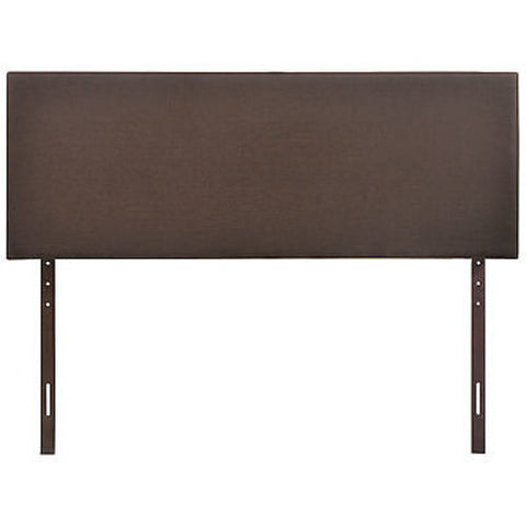 Region Queen Headboard in Dark Brown