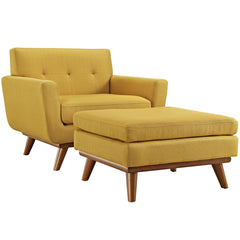 Engage Two-Piece Sectional Sofa in Citrus