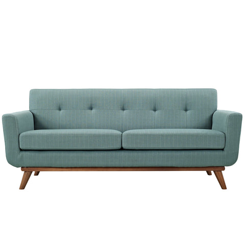 Engage Upholstered Loveseat in Laguna
