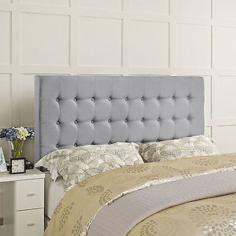 Addison Queen Headboard in Gray