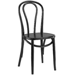 Eon Dining Side Chair in Black