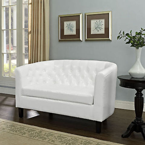 Prospect Loveseat in White