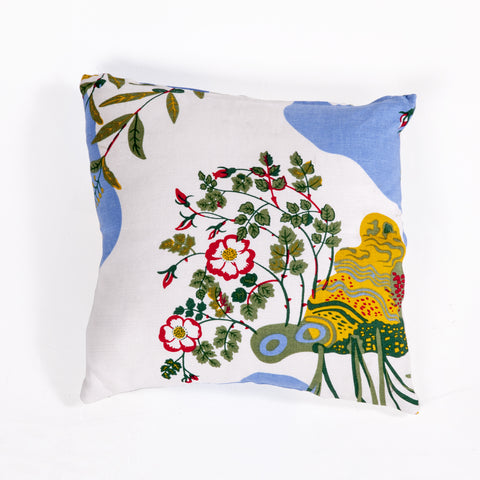 Abia Linen Pillow In Multi Color