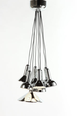 Sylva Lamp In Chrome
