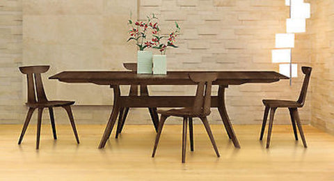 Audrey Extension Table with Easystow Extension and Leaf Storage by Copeland