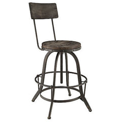 Procure Wood Bar Stool in Black