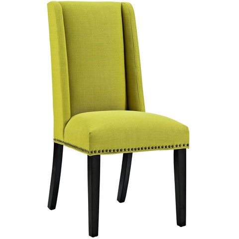 Baron Fabric Dining Chair in Wheatgrass