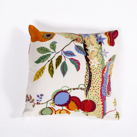 Abbelone Linen Pillow In Multi Color