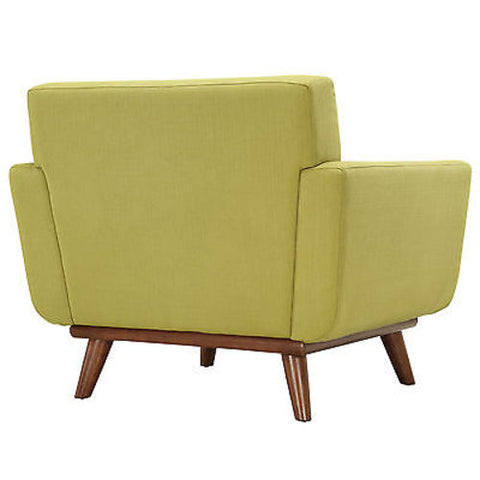 Engage Upholstered Armchair in Wheatgrass