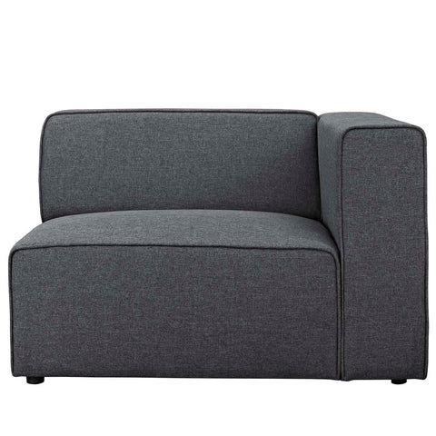 Mingle Fabric Armchair in Gray