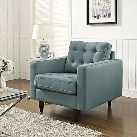 Empress Upholstered Armchair in Laguna
