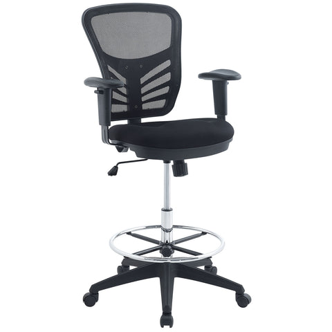 Articulate Drafting Chair in Black