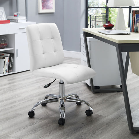 Prim Mid Back Office Chair in White