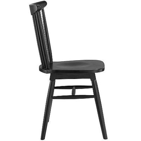 Amble Dining Side Chair in Black - Mid Mod Finds