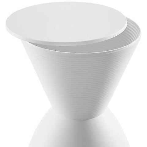 Haste Stool in White