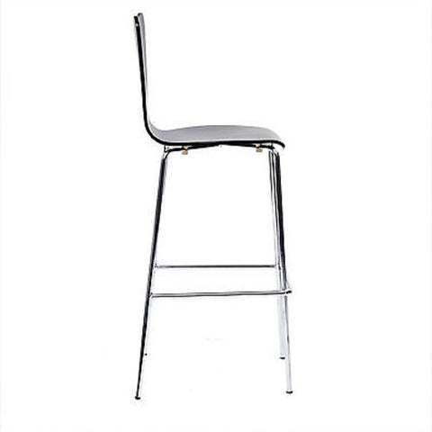 Jacobsen Series Seven Style Barstool in Black