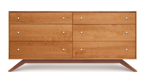 MMF Astrid Six Drawer Dresser by Copeland - Mid Mod Finds