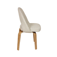 Albin Side Chair In Beige