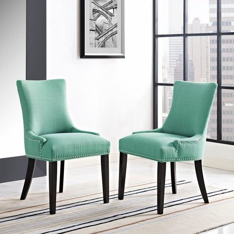 Marquis Fabric Dining Chair in Laguna