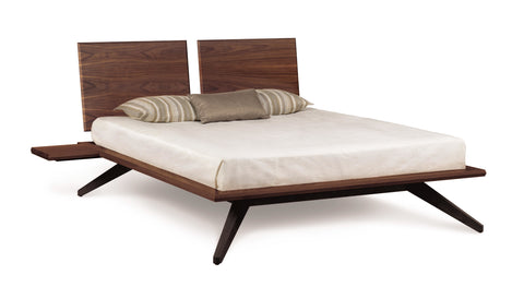Astrid Platform Hardwood Bed by Copeland