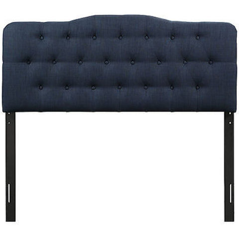Annabel Full Fabric Headboard in Navy