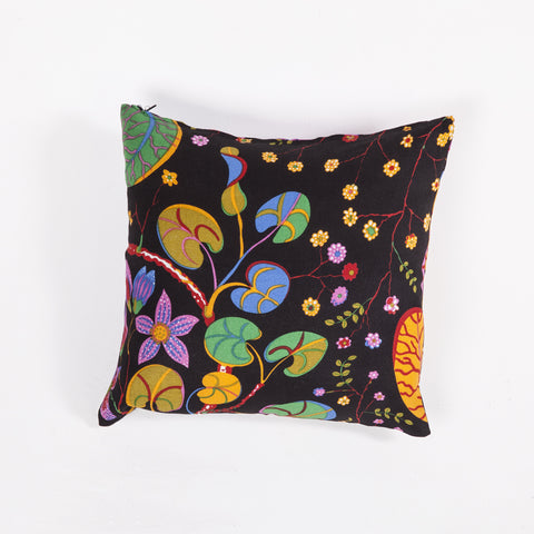 Ada Linen Pillow In Multi Color