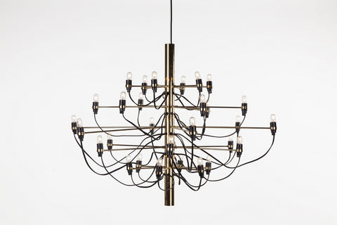 Nardvik Chandelier in Brass