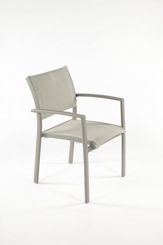 Rhodes Arm Chair In Grey