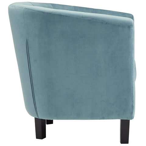 Prospect Velvet Armchair in Sea