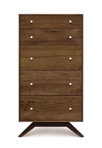Astrid Five Drawer Dresser by Copeland - Mid Mod Finds