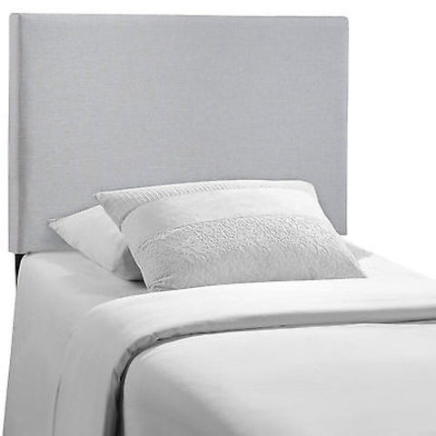 Region Twin Upholstered Headboard in Gray