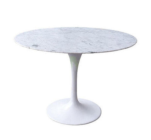 Marble Round Dining Table 36""