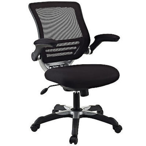 Mesh Back Office Chair with Black Fabric Seat