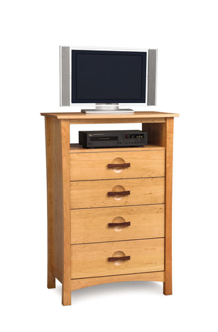 Berkeley Four Drawer Chest With TV Organizer by Copeland