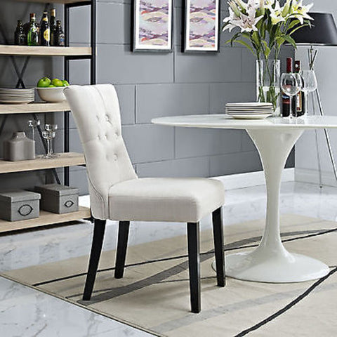 Silhouette Dining Side Chair in Beige