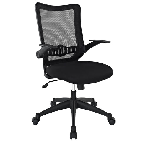 Explorer Mid Back Office Chair in Black