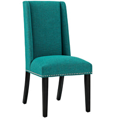 Baron Fabric Dining Chair in Teal