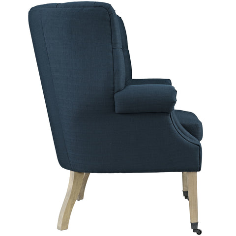 Chart Lounge Chair in Azure