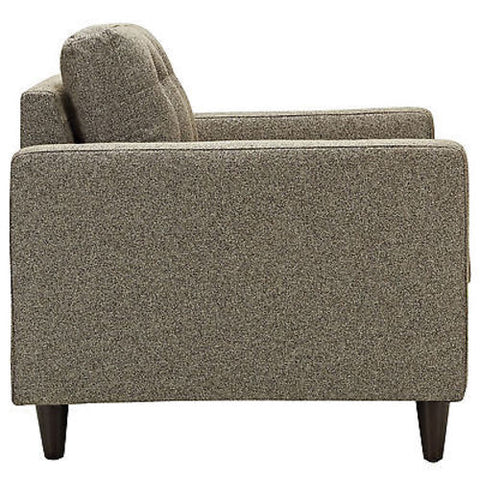 Empress Upholstered Armchair in Oatmeal