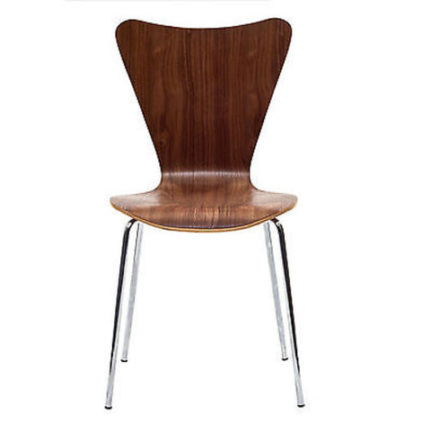 Jacobsen Style Series Seven Chair in Walnut - Mid Mod Finds
