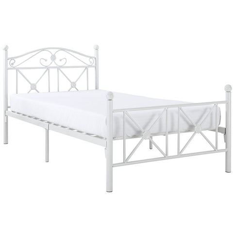 Country Cottage Iron Twin Bed Frame