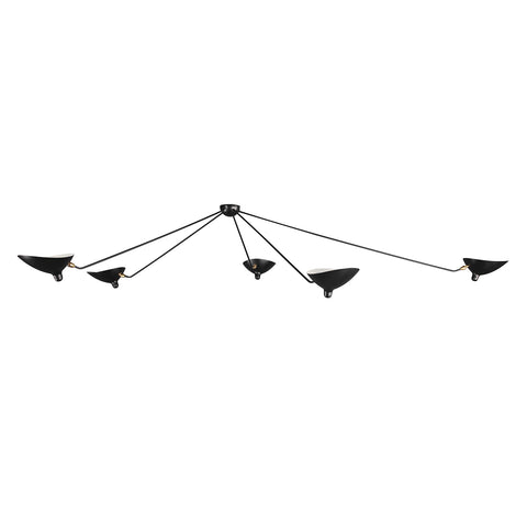 Kragero Ceiling Lamp in Black