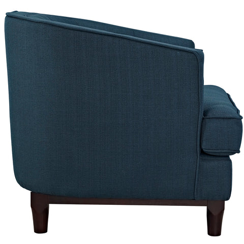 Coast Upholstered Armchair in Azure