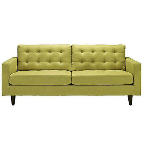 Empress Upholstered Sofa in Wheatgrass