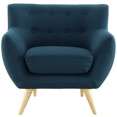 Remark Armchair in Azure - Mid Mod Finds